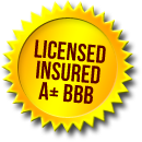 LICENSED INSURED A+ BBB
